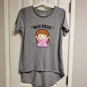 Nah bruh t-shirt